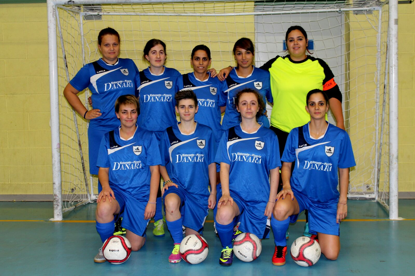 Calcio a 5 femm squadra 2016-17