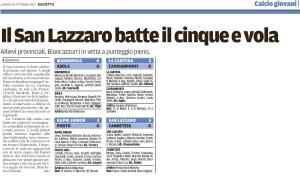 Gazzetta del 16/10/2017