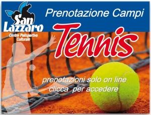 Prenota il campo da tennis