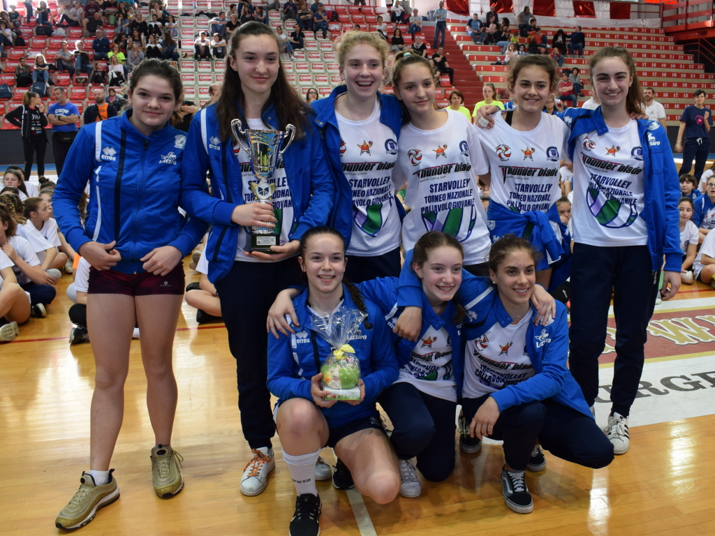 Under 13 prima classificata