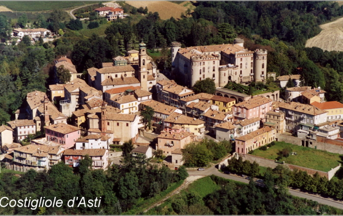 Paesaggio del Comune di  Costigliole d'Asti (AT)